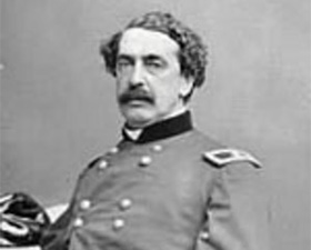 Major General Abner Doubleday--who had nothing to do with the creation of baseball as we know it.