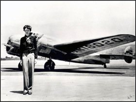 Amelia Earhart is one of many notable unsolved disappearances.